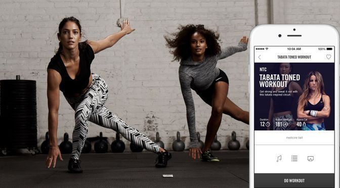 The App to Change Your Life : N+TC (Nike Training Club)
